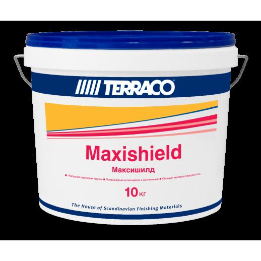 Матовая акриловая краска для фасадных работ Terraco (Максишилд) 10кг