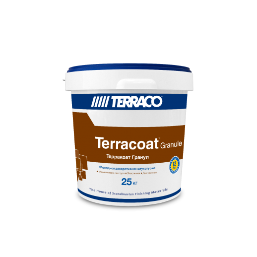 Декоративная акриловая штукатурка Terraco (Flex Гранул) 25кг