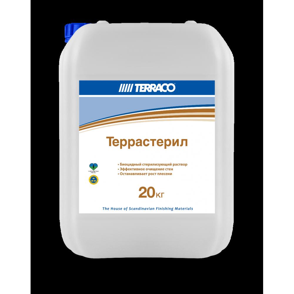 Биоцидный очищающий раствор Terraco (Террастерил) 20кг